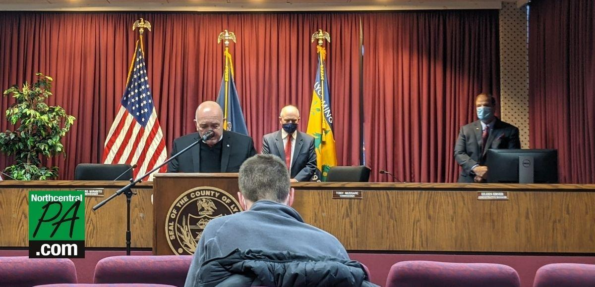 Lycoming County COVID Press Conference - Mussare