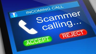 spammer call
