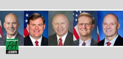 Senators for SB 604.