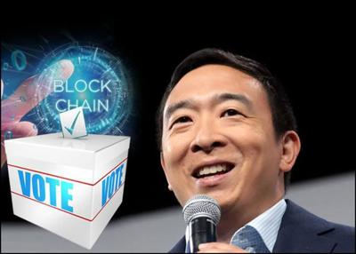 U.S. Presidential Candidate Yang Pushes For Blockchain-powered Voting