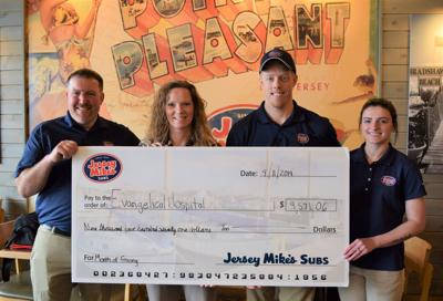Jersey Mike's donates $9,500 to Evangelical