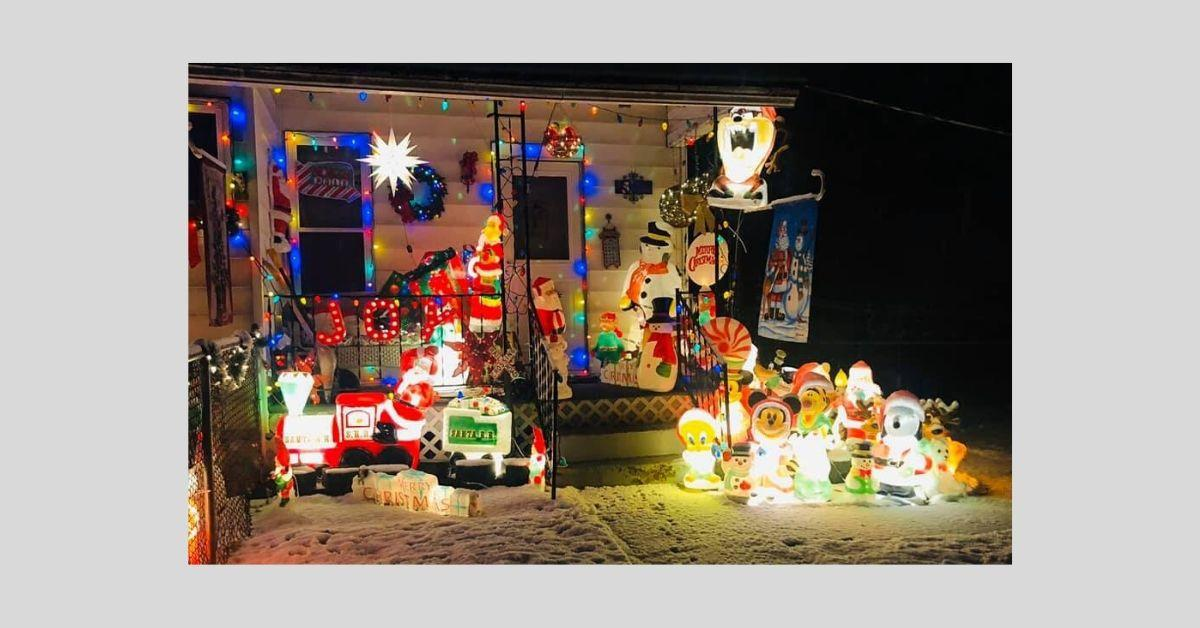 Christmas Corner back yard _ 2019