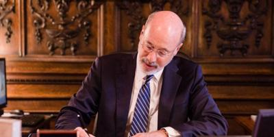 Gov. Wolf signs executive order extending mail ballot deadline in six counties to June 9 PHOTO