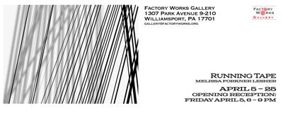Melissa Forkner Lesher: Running Tape at Factory Works Gallery