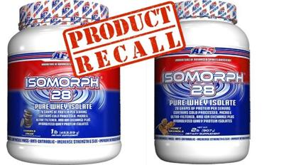 protein powder recall april 2021