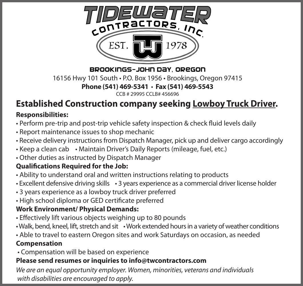 H49778 Tidewater Cont lowboy 3x5 110420