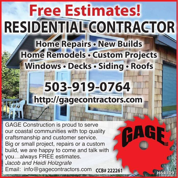 Gage-Residential Contractor - Free Estimates 090721