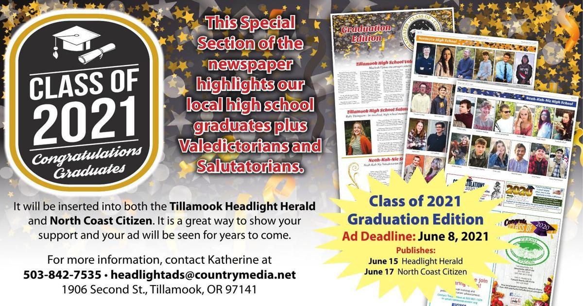 Class of 2021 Tillamook County-Marketing Opps
