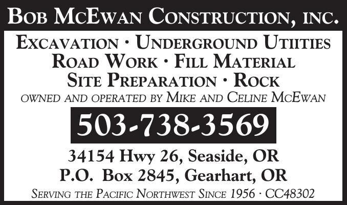 Bob McEwan Construction Seaside, OR 109424