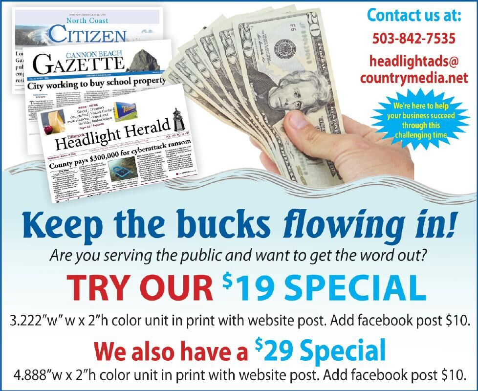 Advertising Special 071520