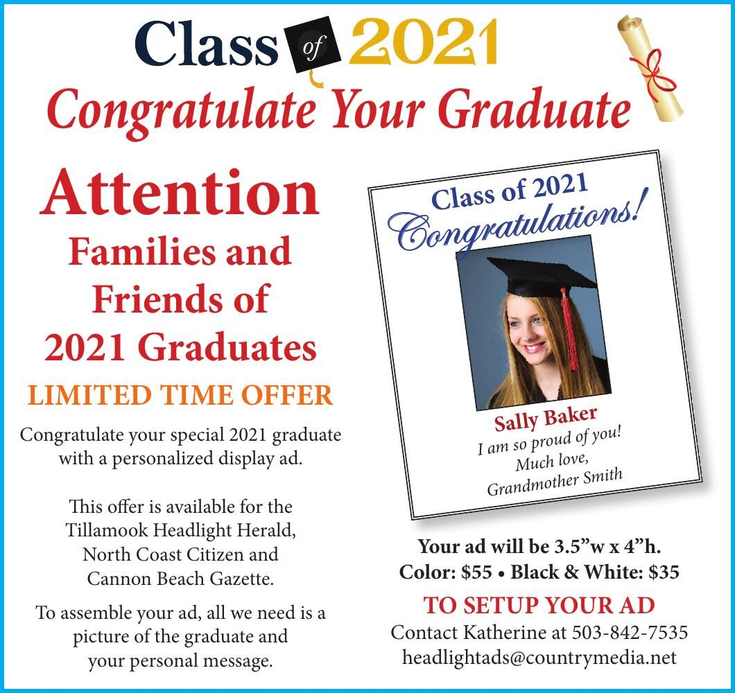 Congratulate Your Graduate