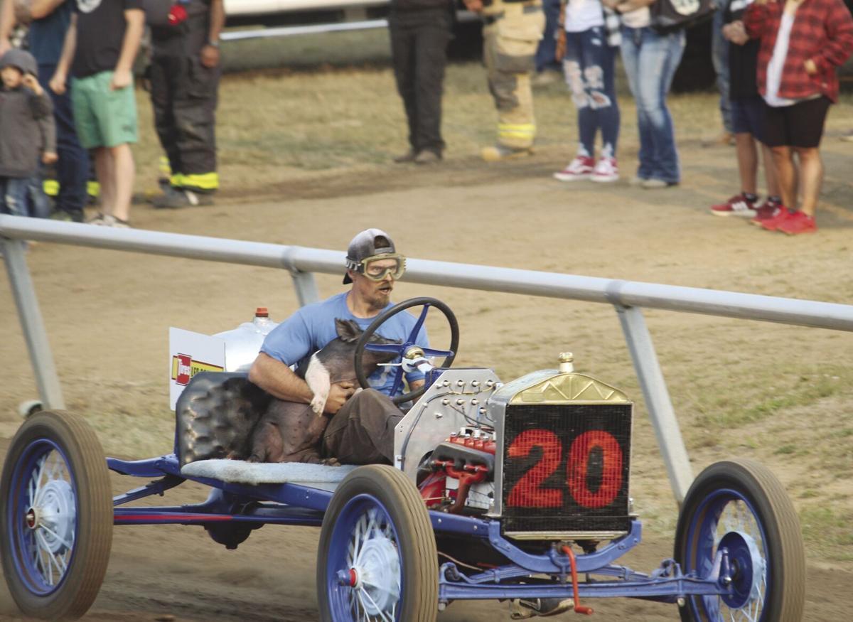 Pig-N-Ford races