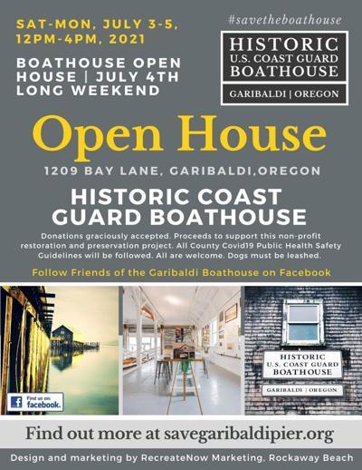 Coast Guard Boathouse open house