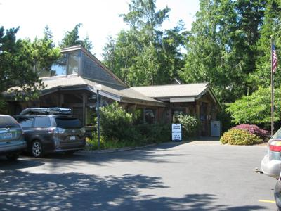 North Tillamook Library in Manzanita