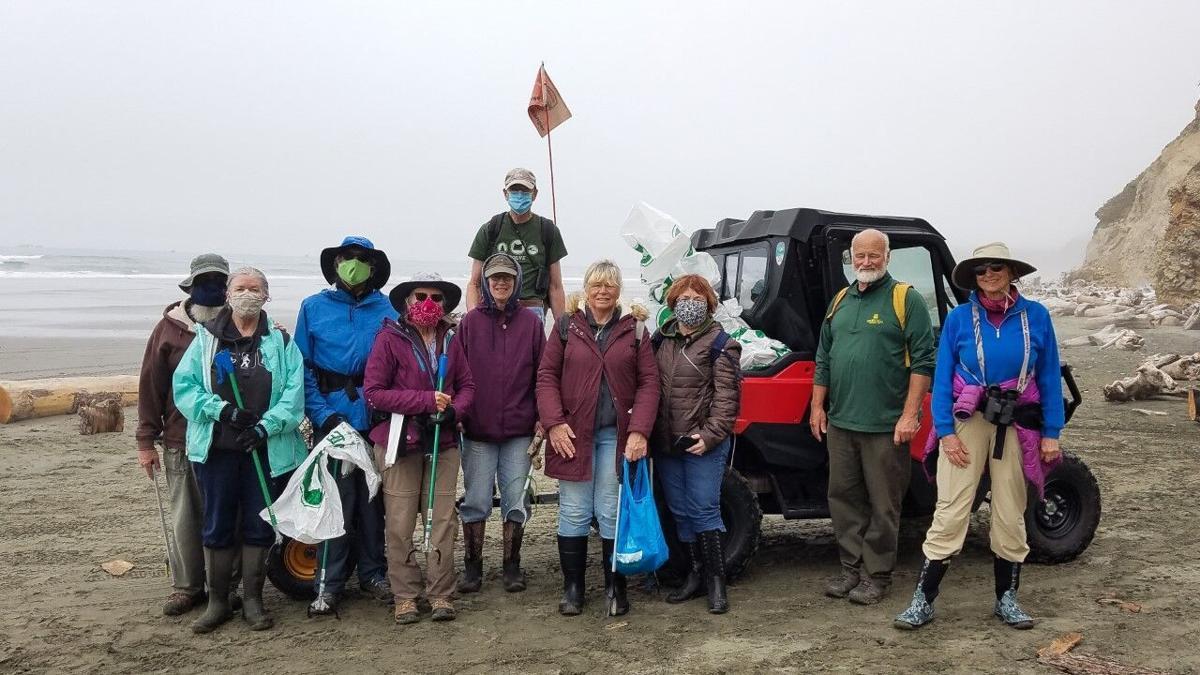 Oregon spring cleanup