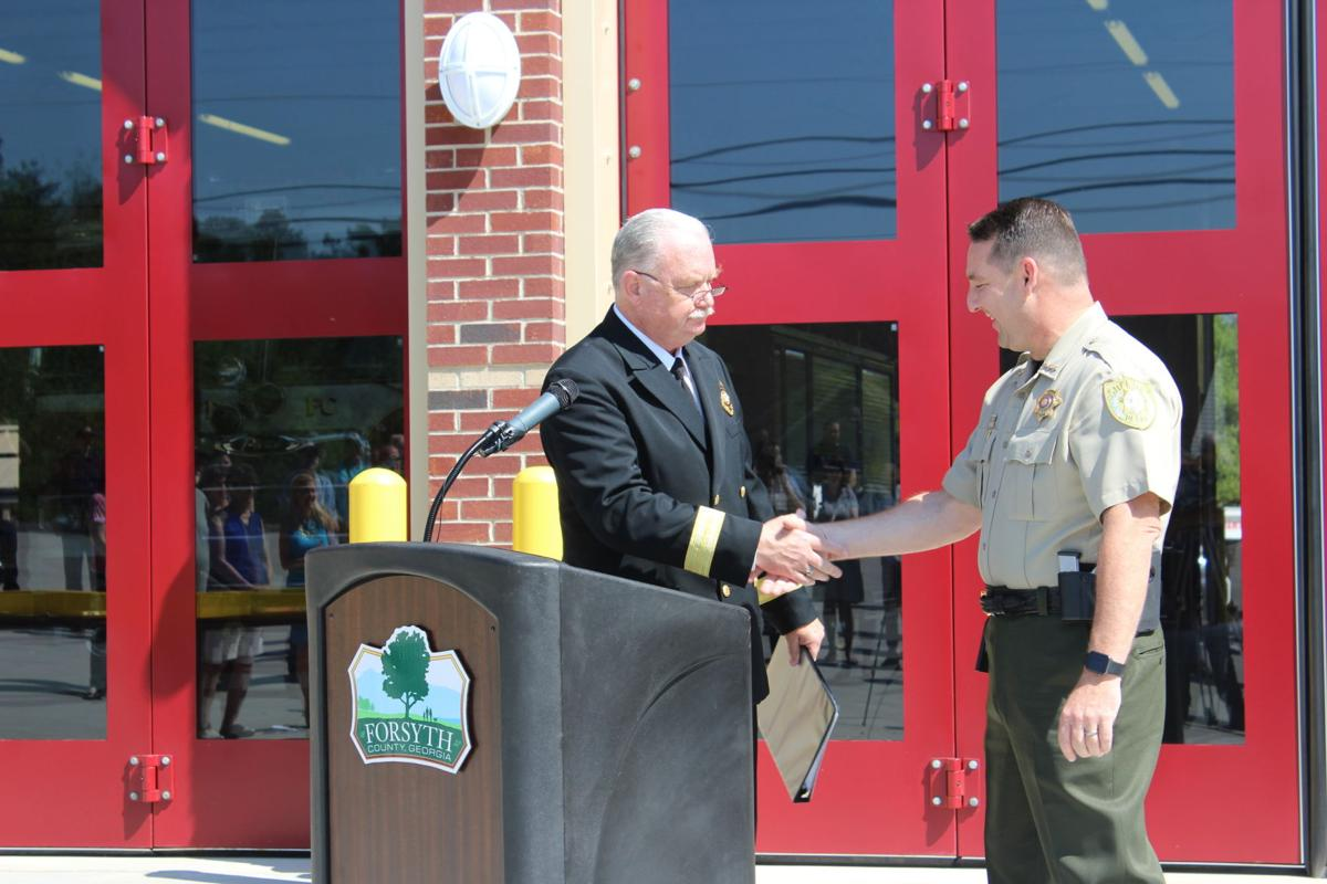 Fire Station 8 opens in North Forsyth   Archives   northfulton com