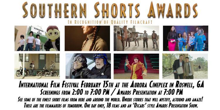 Southern Shorts Awards.Feb 15 2020 at Aurora Cineplex