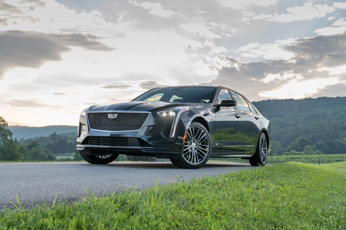 2020 Cadillac CT6-V (US Product)
