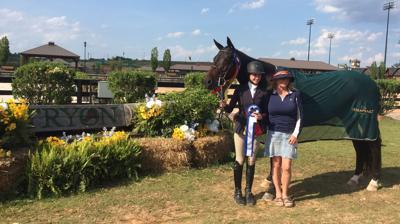 Wyette Felton and Empress are Champions at WCHR in Tryon