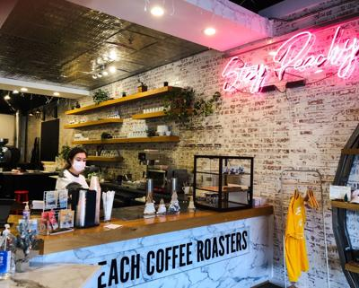 PEACH COFFEE ROASTERS 1