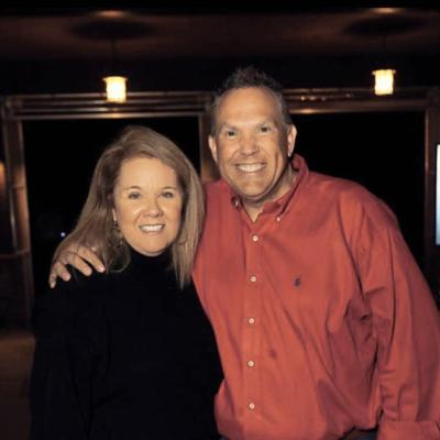 """Donna Choate and Bill Rawlings, co-hosts of """"Hustle"""""""
