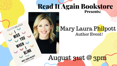 Mary Laura Philpott Author Event at Read It Again Bookstore