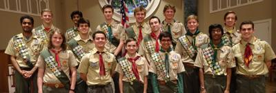October Eagle Scouts