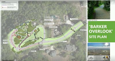 Barker Overlook site plan