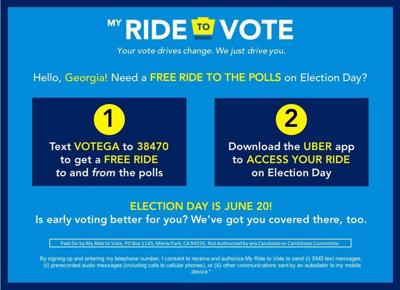 My Ride to Vote provides free transport to polls