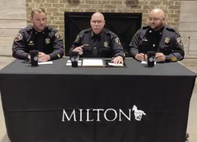 Milton PD Facebook Town Hall