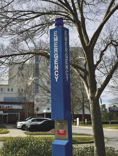 Watson Hostpital Emergency pole