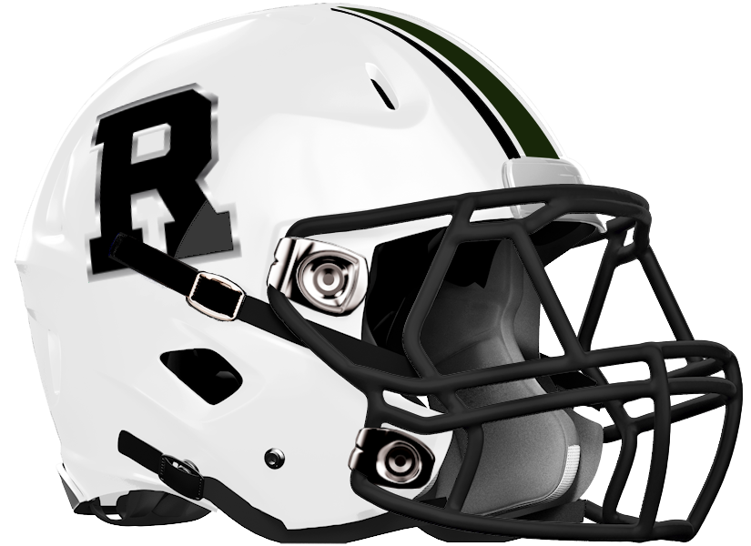 Roswell HS Football Helmet