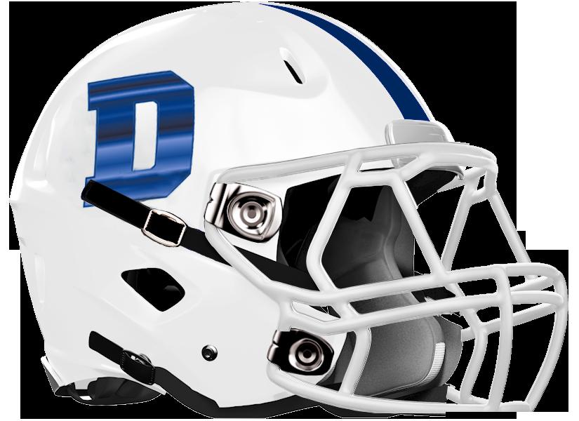 Denmark HS Football Helmet