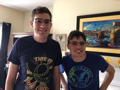 Elliot and Alex Smith