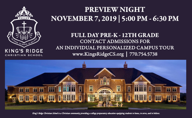 King's Ridge Preview Night