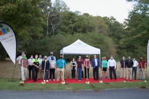 Construction kicks off on multi-purpose trail at Cauley Creek Park