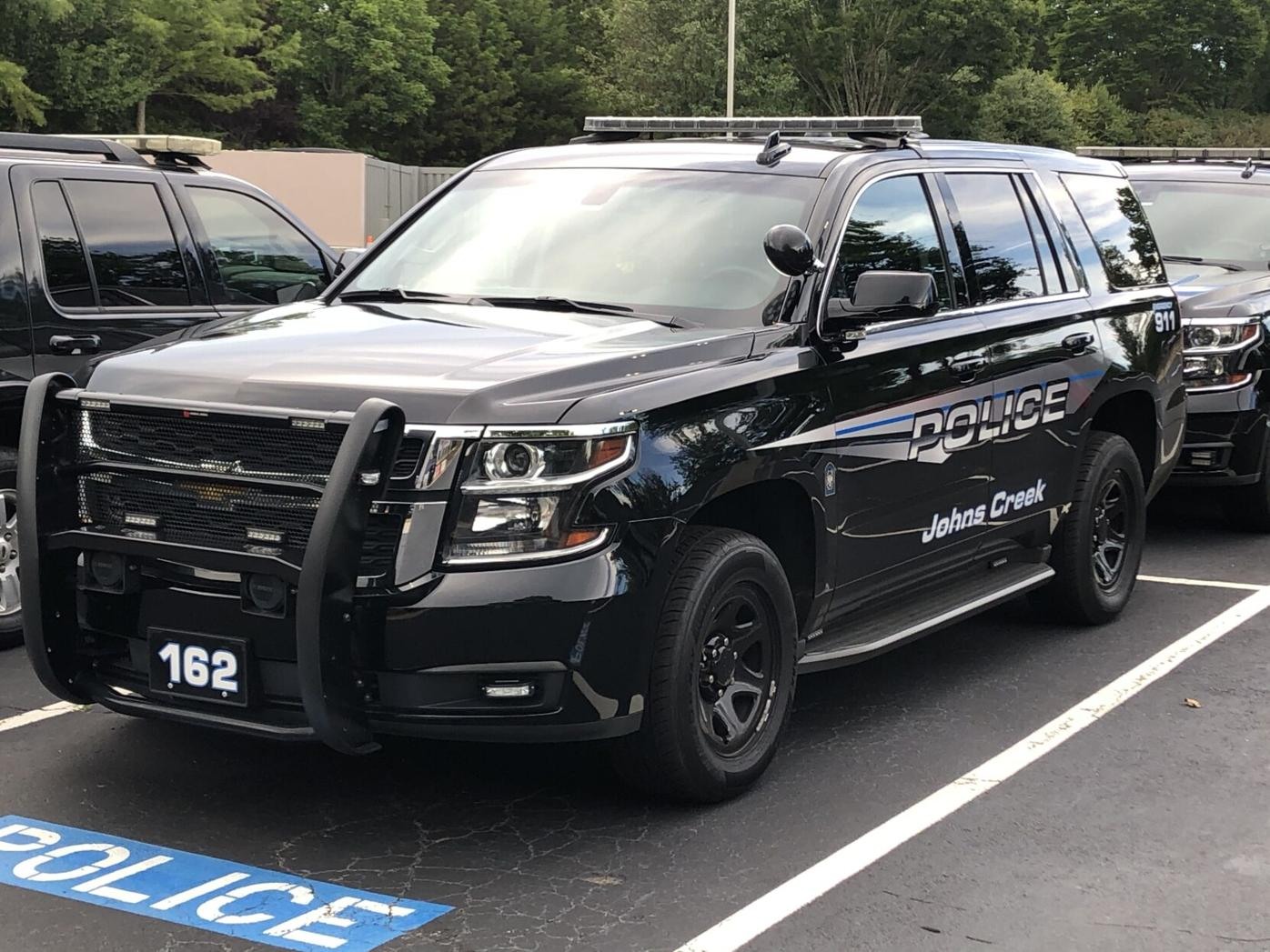 Johns Creek Police Car