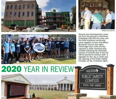 milton year in review