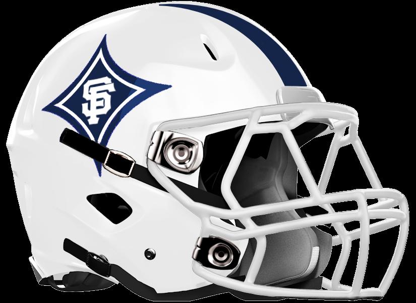 St Francis HS Football Helmet