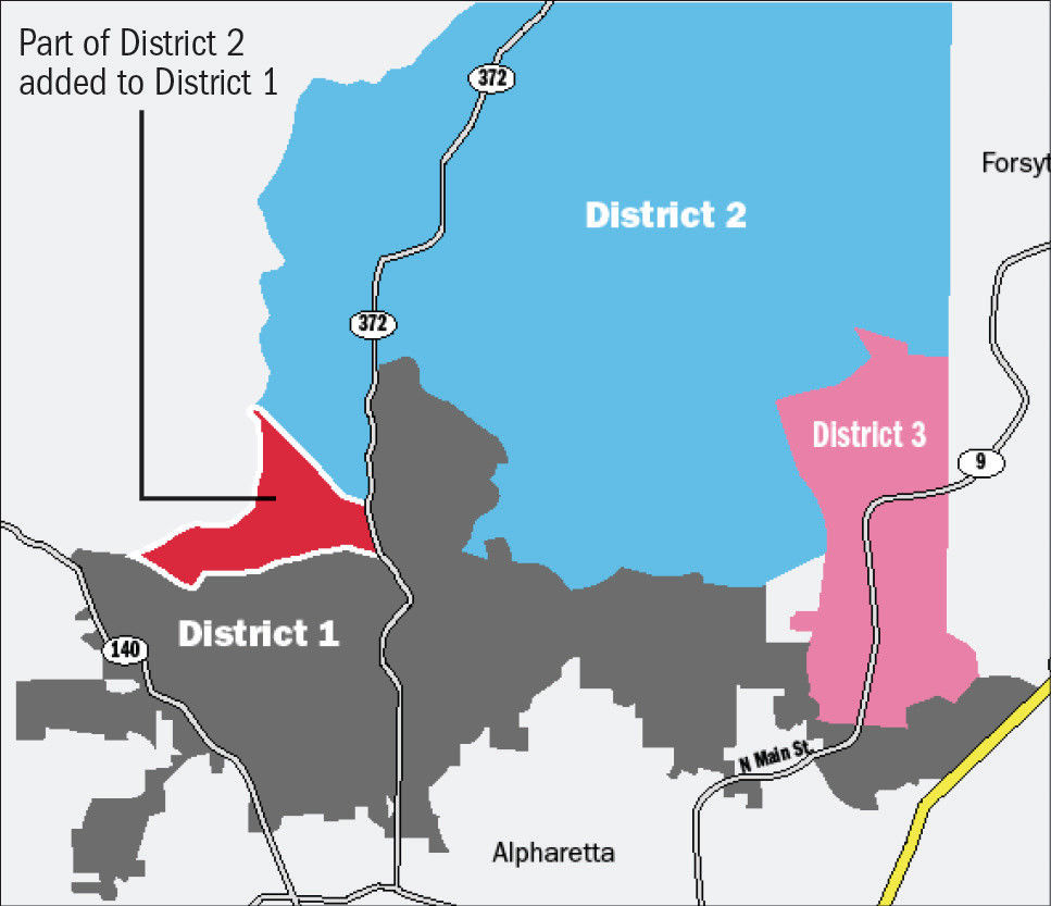 Group questions motives behind Milton redistricting