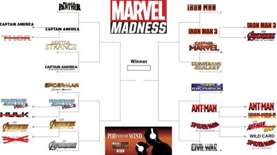 Pod With The Wind Marvel Madness Week 2