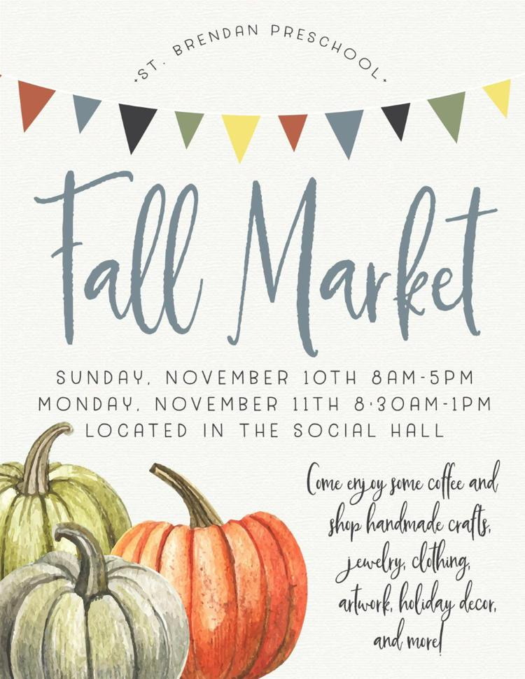Fall Market @Saint Brendan the Navigator Catholic Church