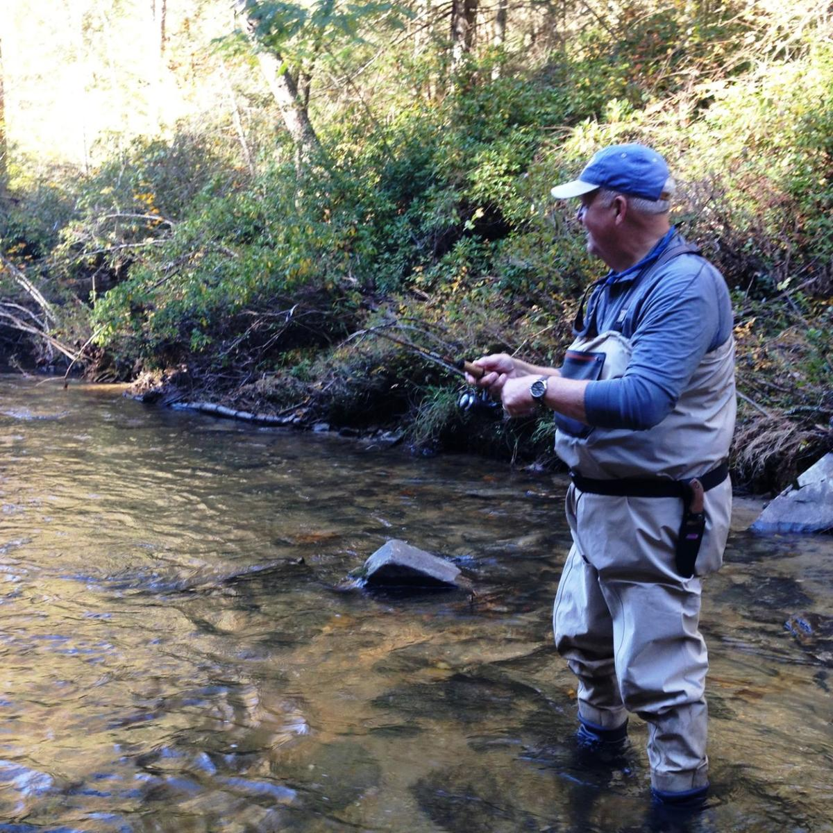 Delayed Harvest Trout Season off to a great start