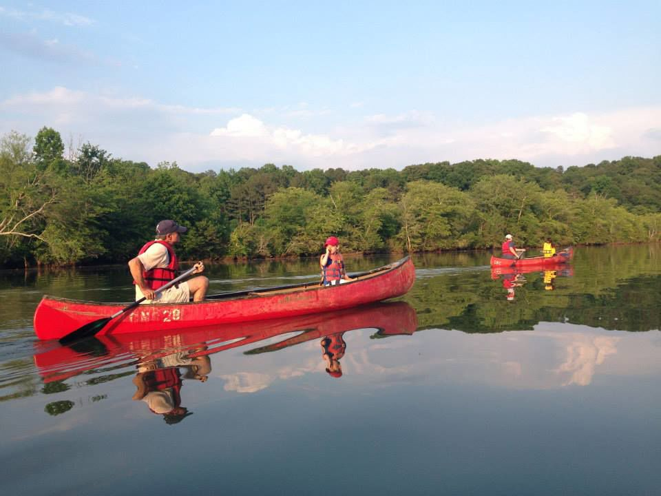 Guided River Canoe Trips on the Chattahoochee River