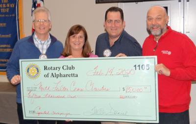 Alpha Rotary donation