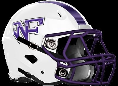 North Forsyth HS Football Helmet