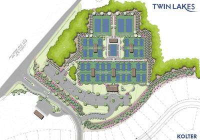 Cresswind GA at Twin Lakes Pickleball Complex Rendering
