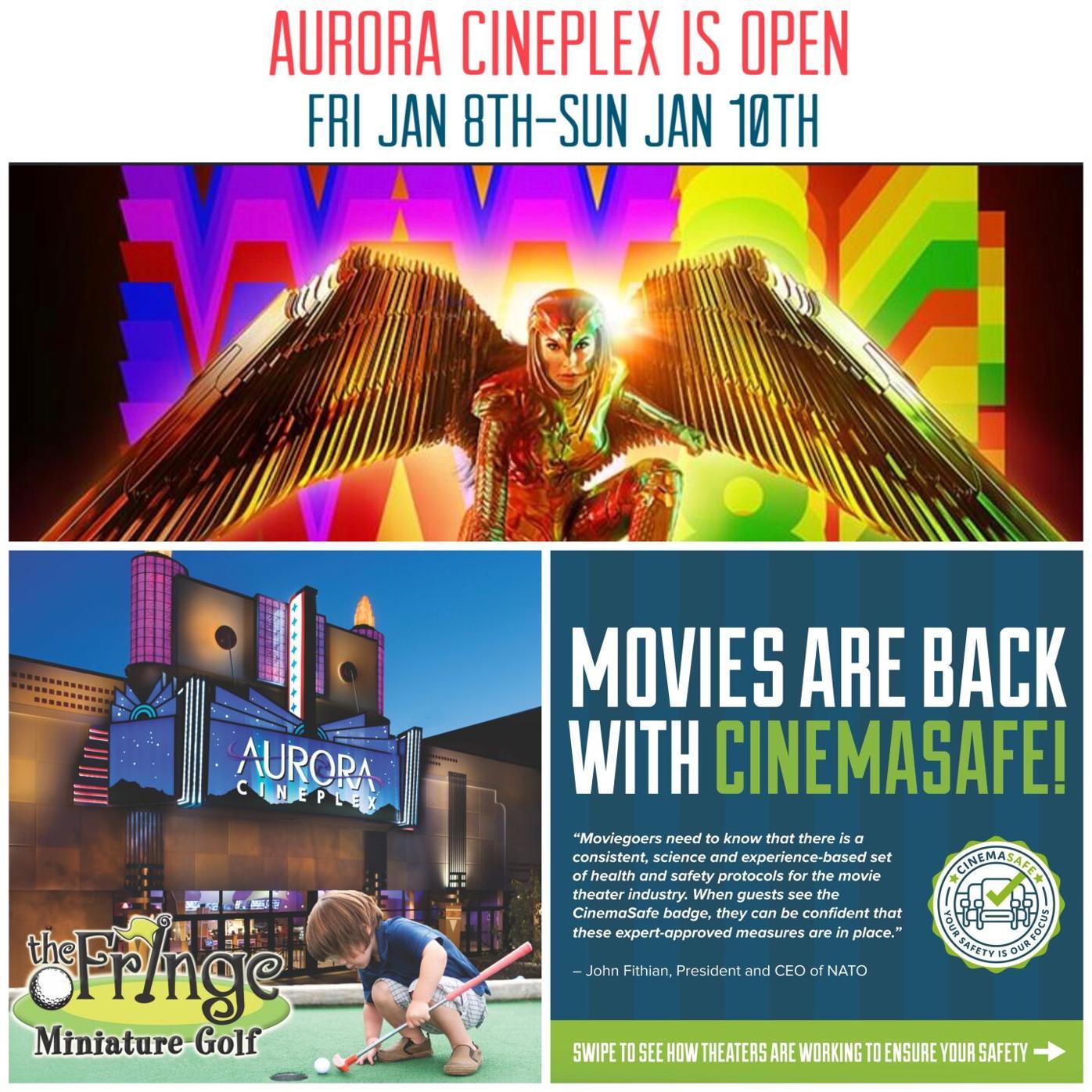 Wonder Woman Weekend at Aurora Cineplex