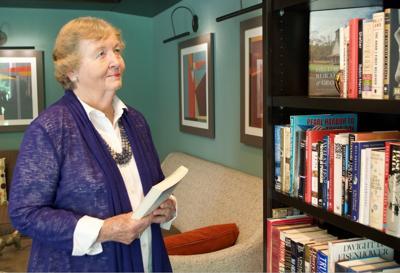 Village Park resident librarian