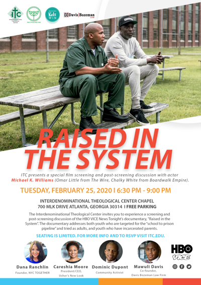 """""""Raised in the System,"""" produced by Emmy-nominated actor, Michael K. Williams"""